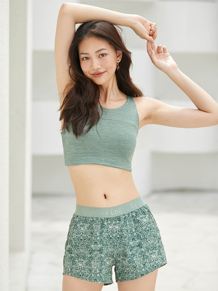 Betty Sports Shorts (Green)