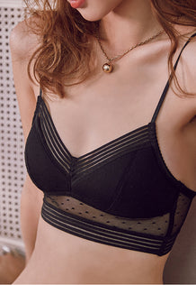 Anastasia Demi Padded Bra Set (Black)