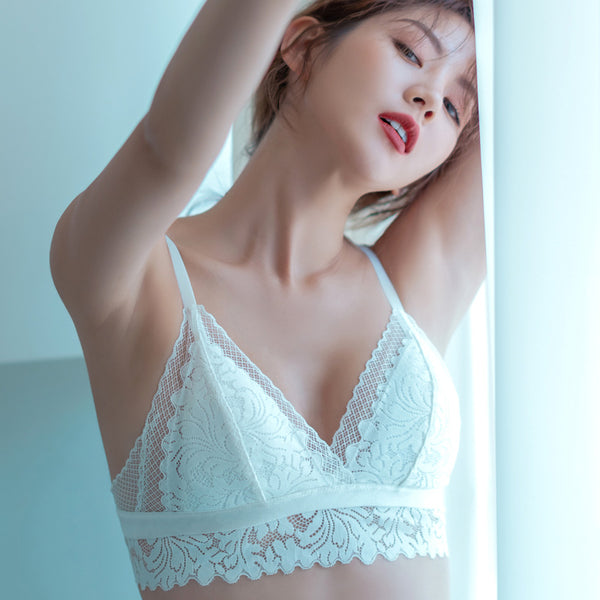 Rare Bralette Set (White)