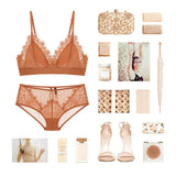 Solera Lace Padded Bralette Set