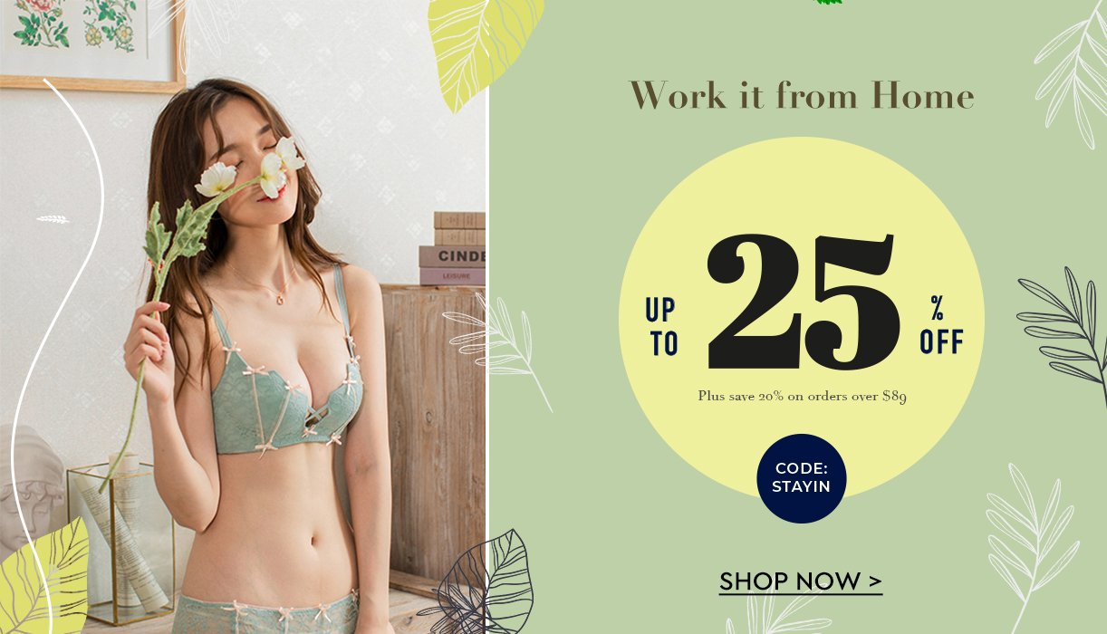 Seasons Treatings: Lingerie sets in A to D cups