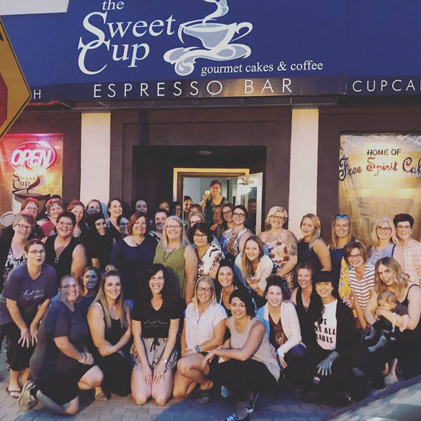 Saskatchewan Sisterhood Event at The Sweet Cup
