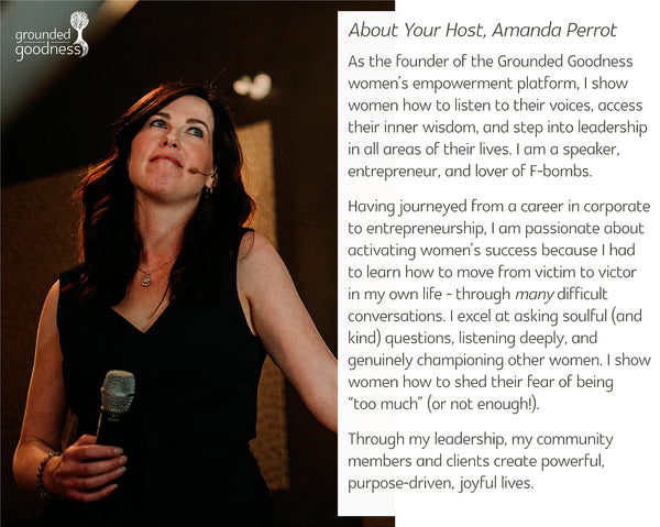 About your host, Amanda Perrot
