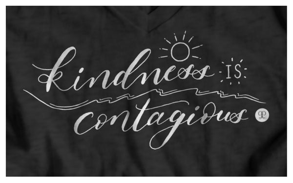 Grounded Goodness Kindness is Contagious Shirt