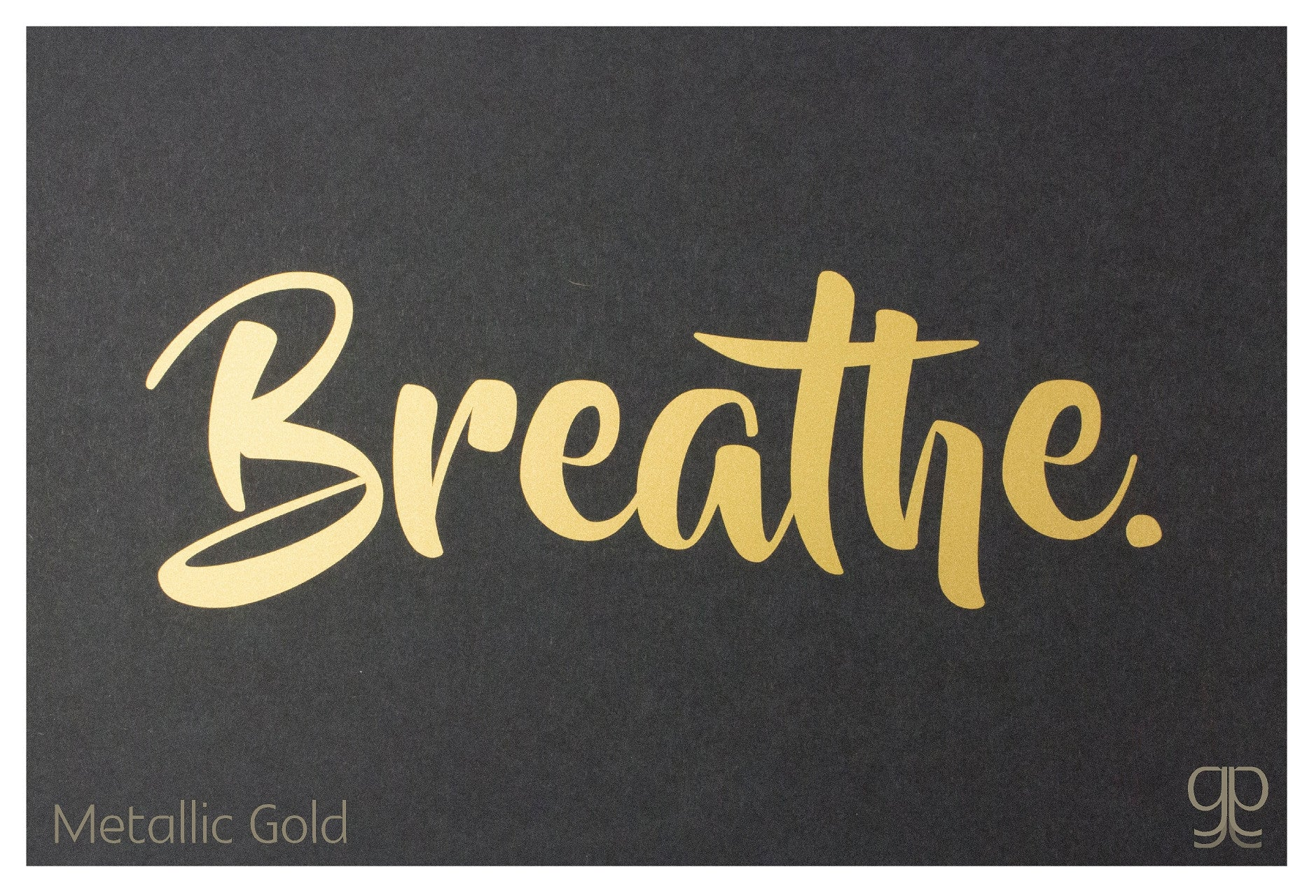 Breathe  >> Large Decal Breathe Grounded Goodness