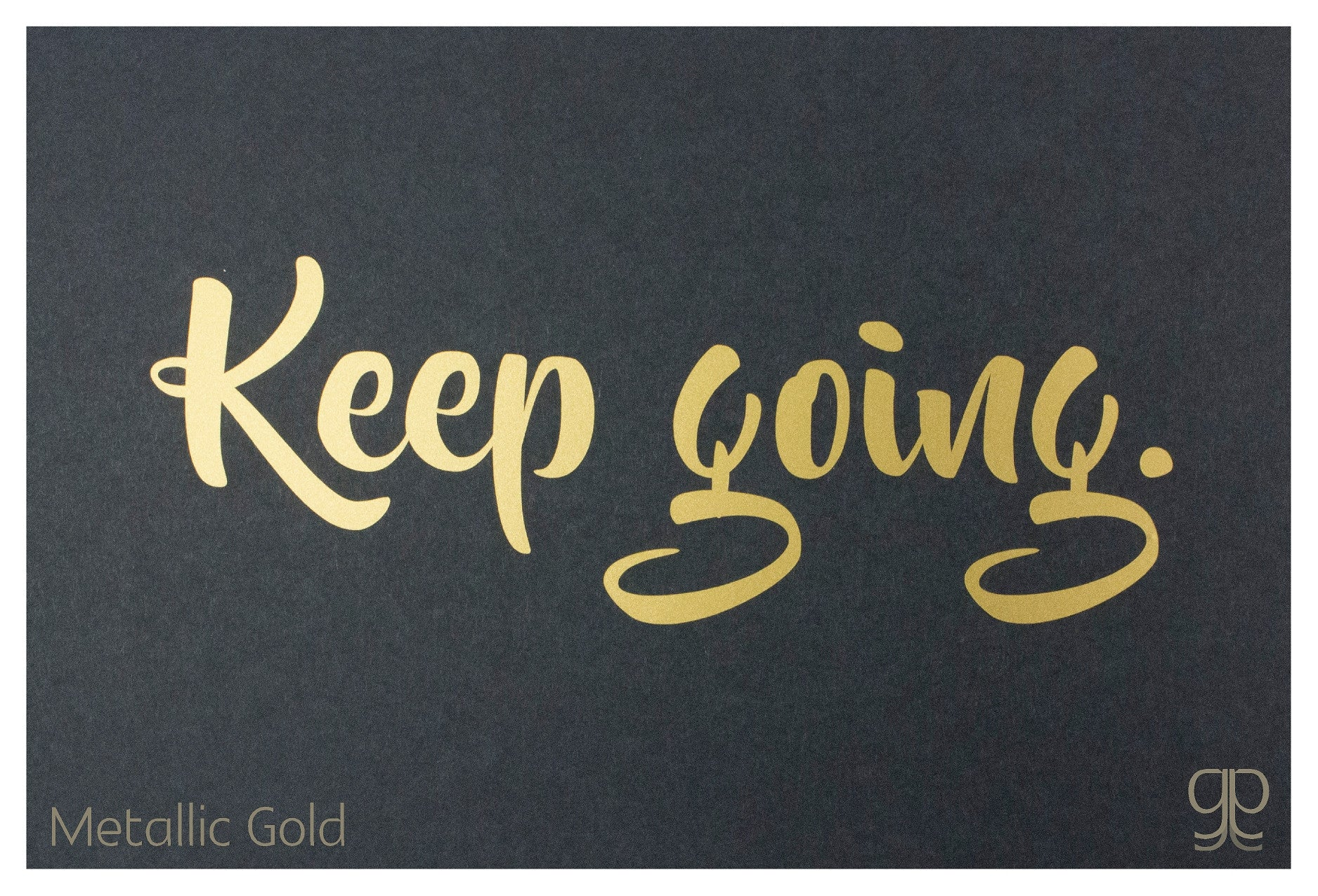 Large Decal - 'Keep Going'