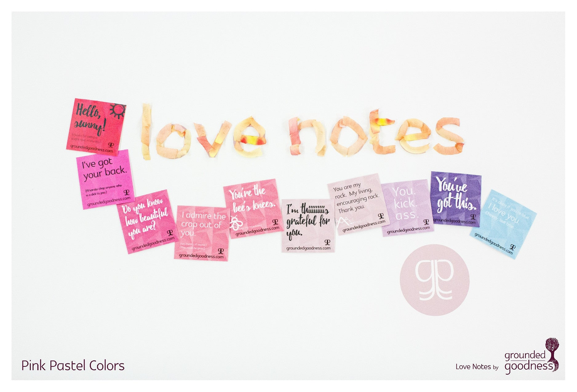 Small Decals - Love Notes