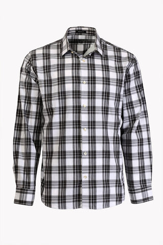 Long Sleeve Check Dress Shirt by Express (Size: XL) - Bosko  - 1