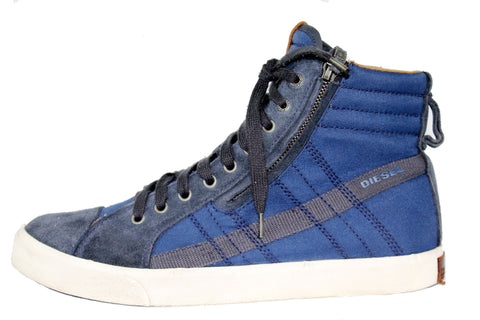 Side Zip Lace up Ankle Sneakers by Diesel (Size: US9, EU42) - Bosko  - 1