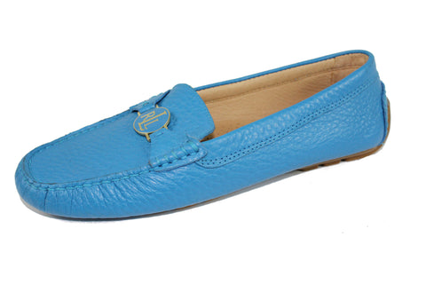 Genuine Leather Female Flat Shoe by Ralph Lauren (Size: US8.5, EU39) - Bosko  - 1