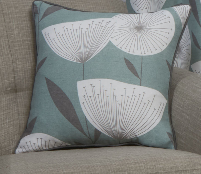 Teal Amelia Cushion Cover