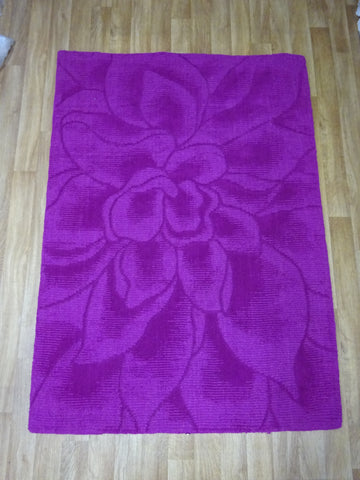Purple Wool Rug