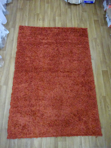 ELSA SHAGGY ORANGE RUG