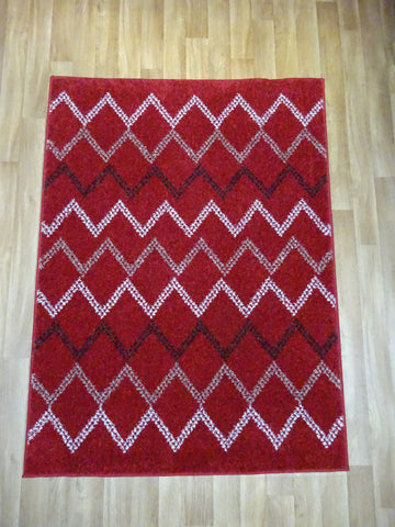 Marrakesh Red/Brown Rug 120 x 170 cm 4' x 5'7""