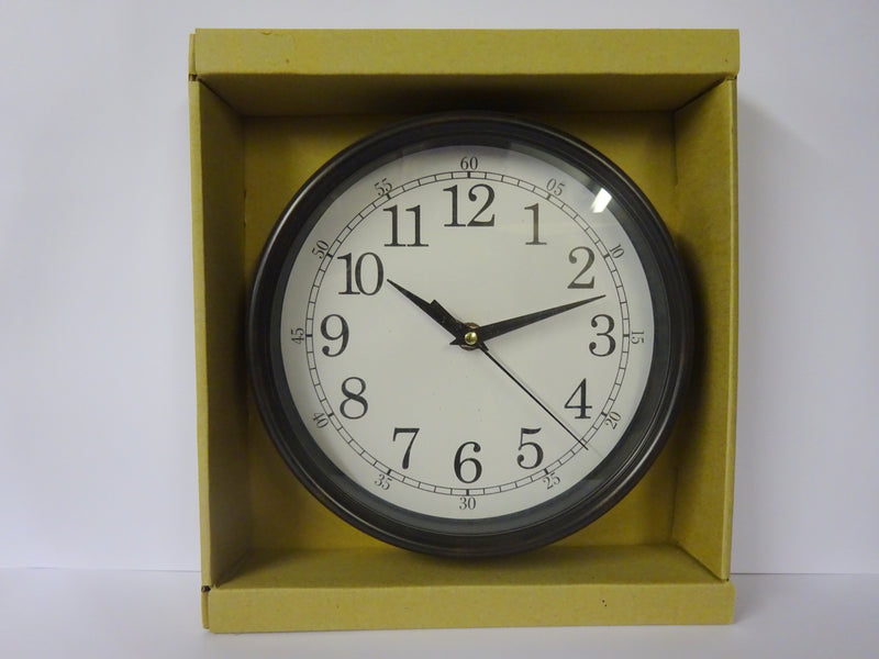 Bronze Effect Wall Clock