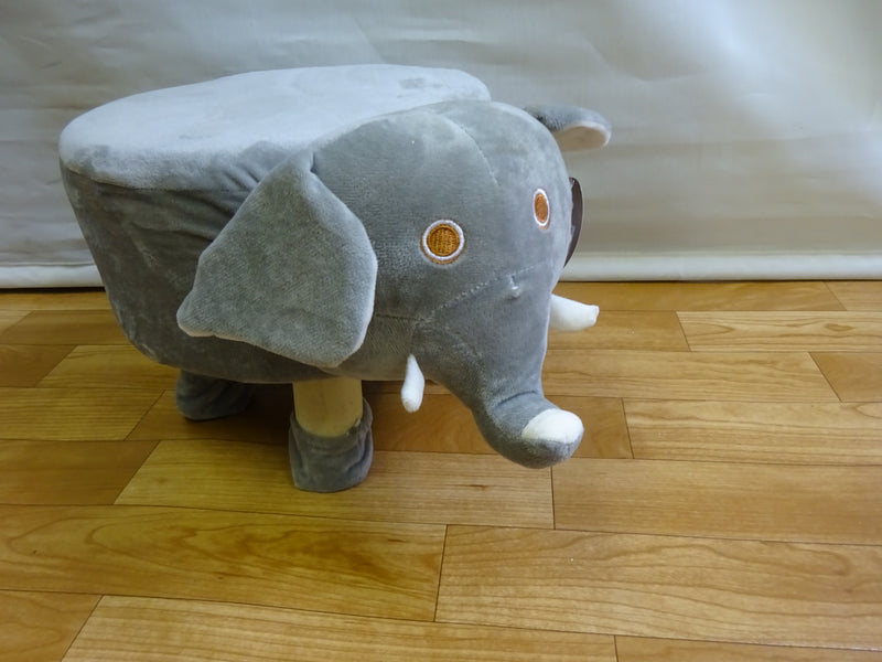 Elephant LUXURY WOODEN STOOL ANIMAL DESIGN CHILDS CHAIR SEAT