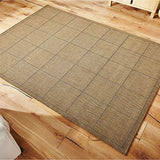 Brown Flatweave Anti-slip Rug