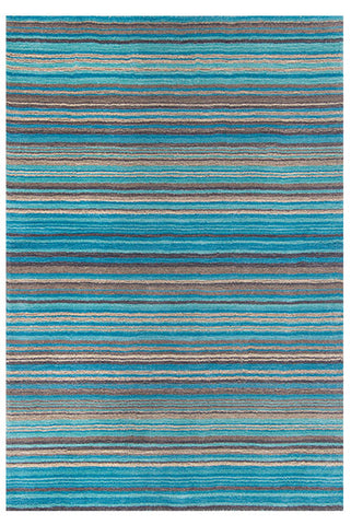 Carter Teal Wool Rug