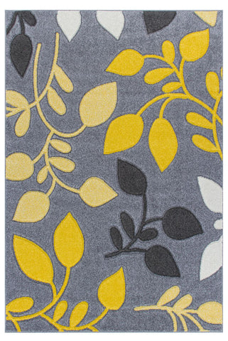 Grey/Yellow Portland Rug