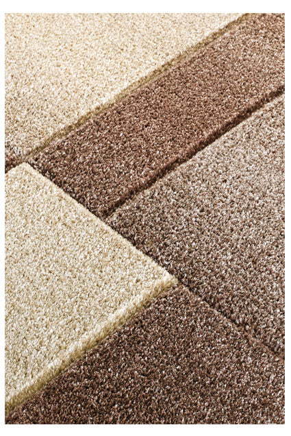 Portland Brown & Beige Rug