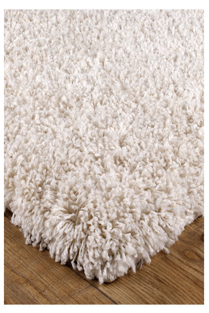 Isla Cream Shaggy Rug