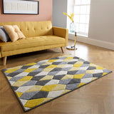 Portland Grey & Yellow Rug