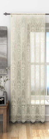 Champagne Holly Lace Panel