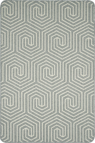 Mira Grey Sugar Anti-slip Rug