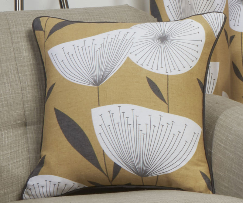 Ochre Amelia Cushion Cover