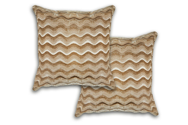 Sinead – Satin Chenille Cushion Cover in Gold