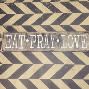 Eat Pray Love - Hortizontal