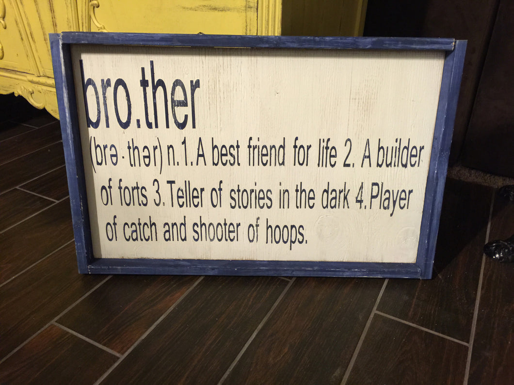 Brother (Noun)