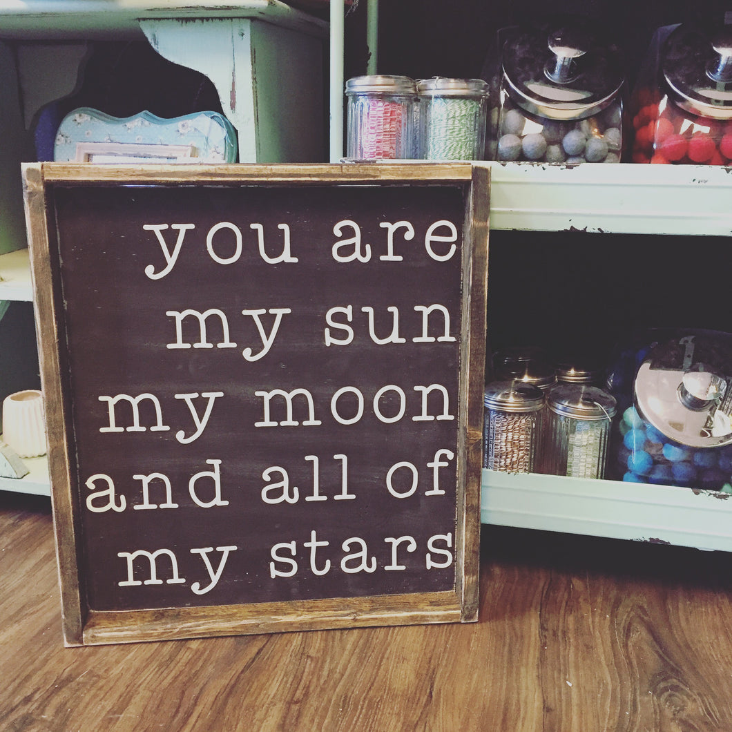 You Are My Sun My Moon