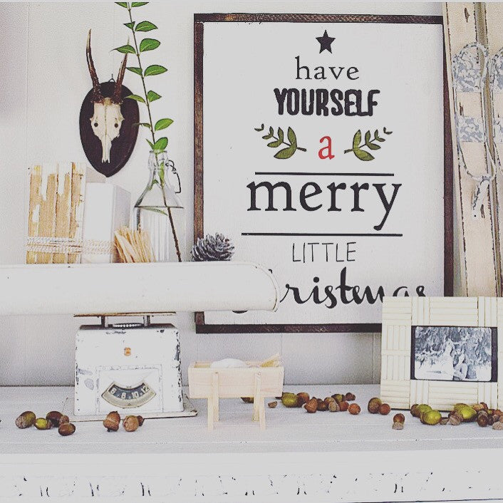 Have Yourself A Merry Little Christmas-Small Writing