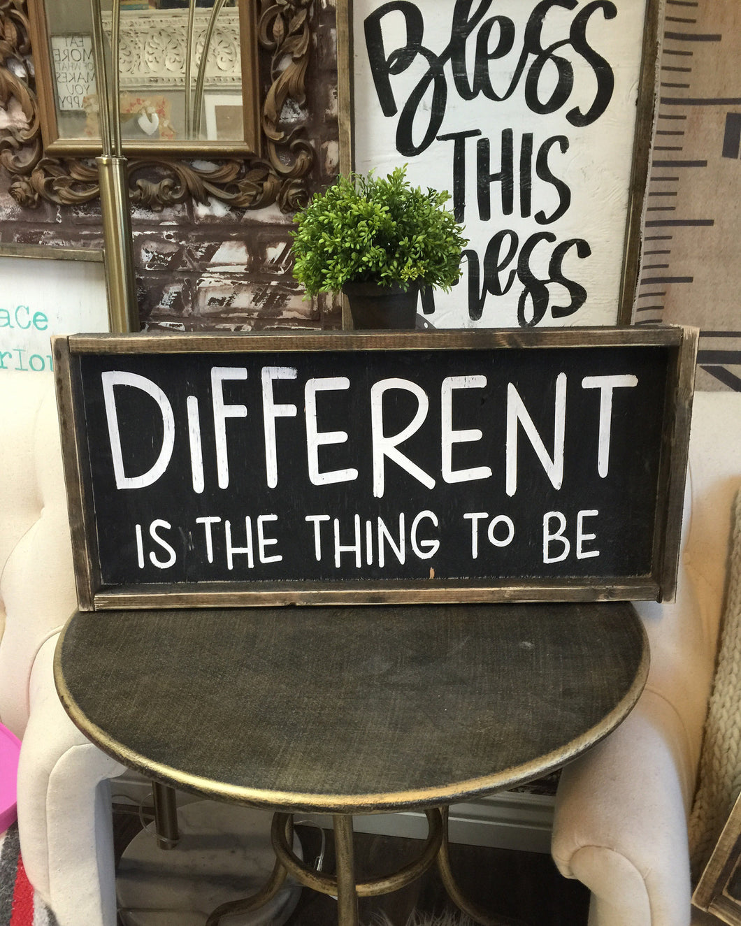 Different Is The Thing To Be