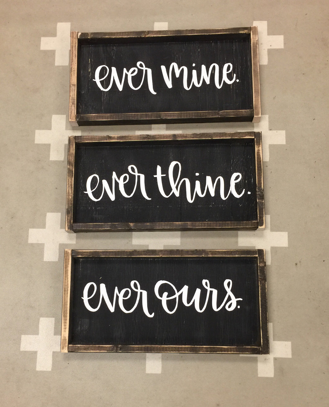 Ever Mine Ever Thine Ever Ours - SET