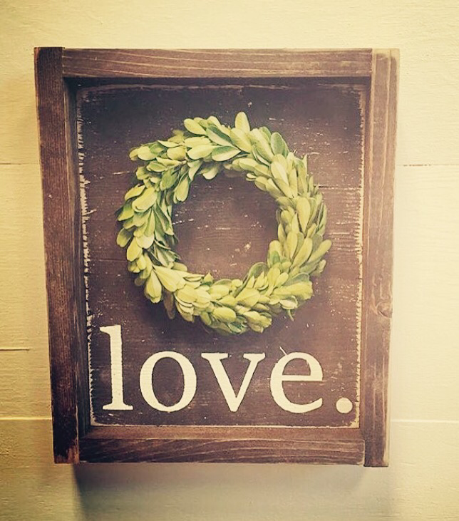 Love - Wreath