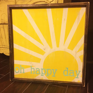 Oh Happy Day - Sun