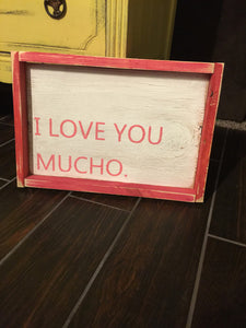 I Love You Mucho