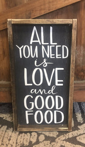 All You Need Is Love And Good Food