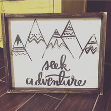 Seek Adventure - Mountains
