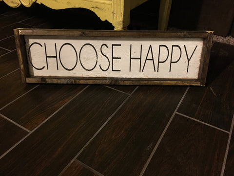 Choose Happy - Block