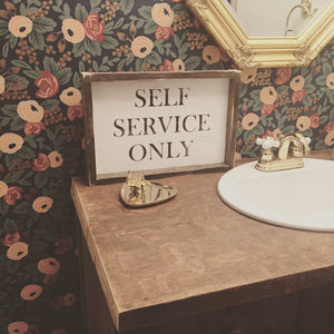 Self Service Only