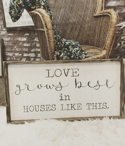 Love Grows Best - Mixed Fonts