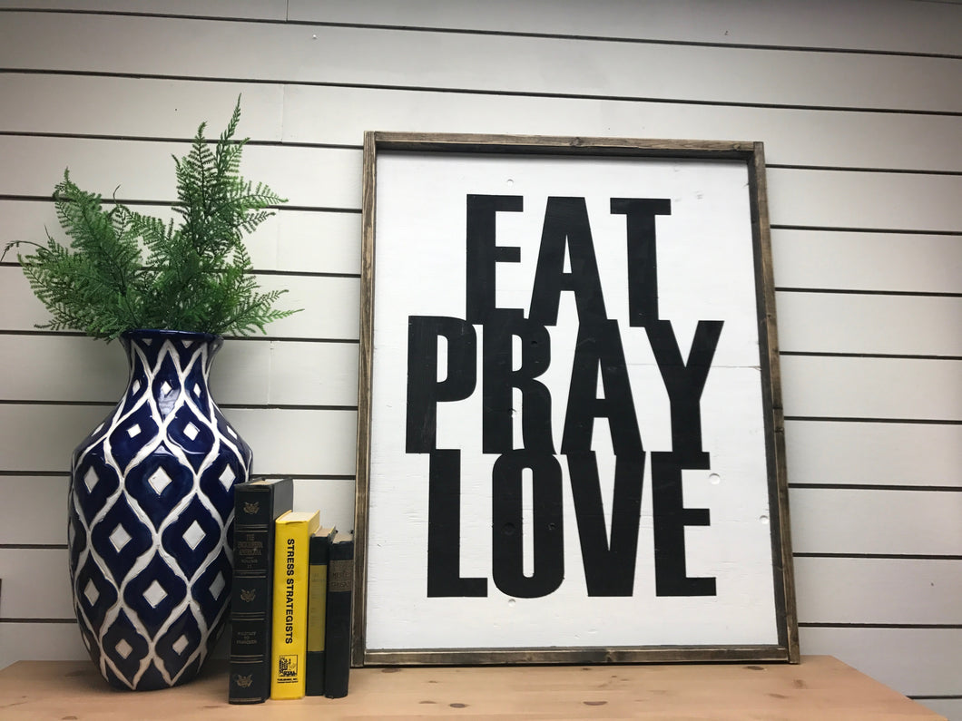 Eat Pray Love - Vertical