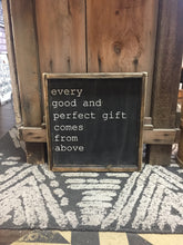 Every Good And Perfect Gift Comes From Above