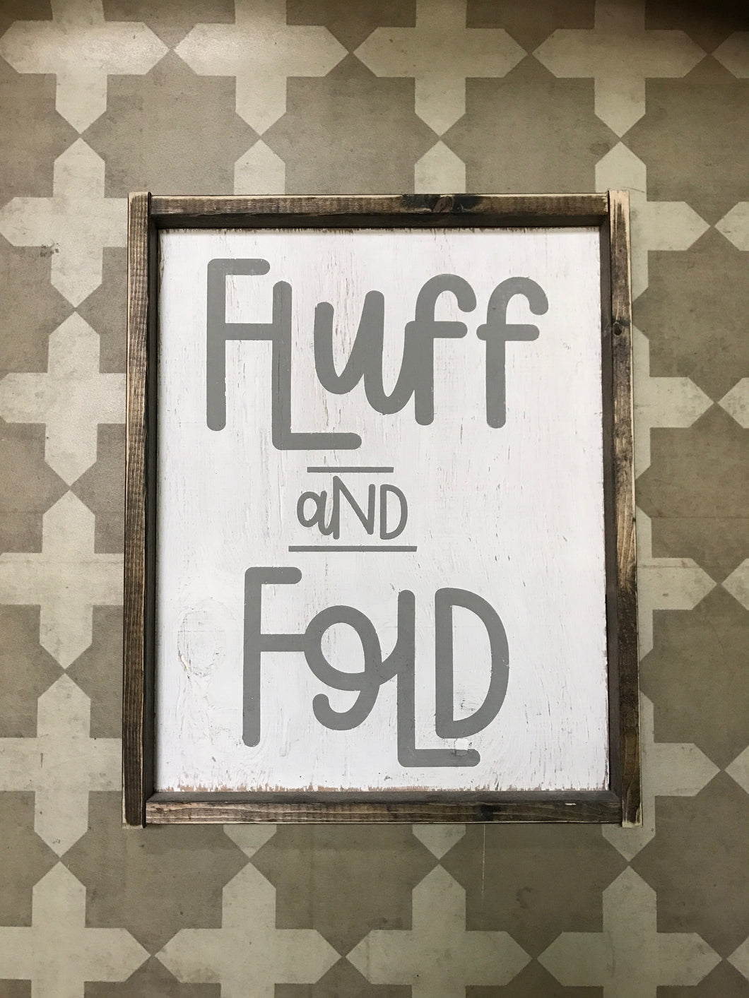 Fluff and Fold - Verticle