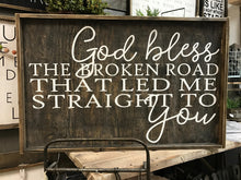 God Bless the Broken Road - Horizontal