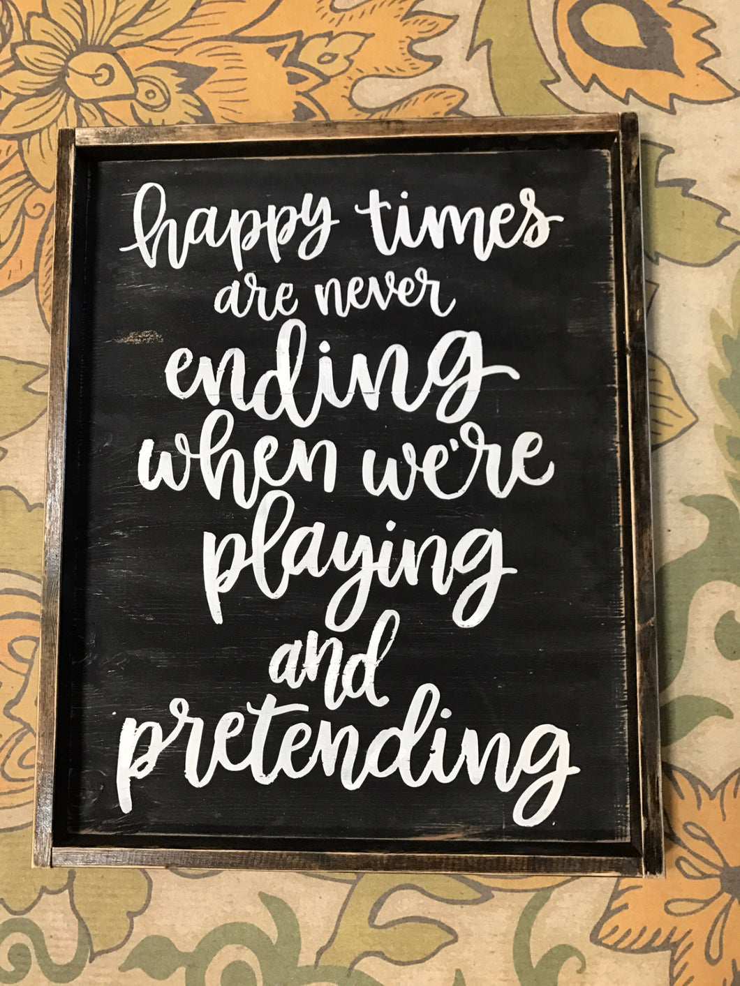 Happy times are never ending