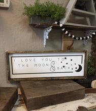 I Love You To The Moon with Stars